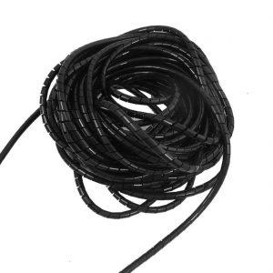 1 metro espiral agrupa cables 8mm