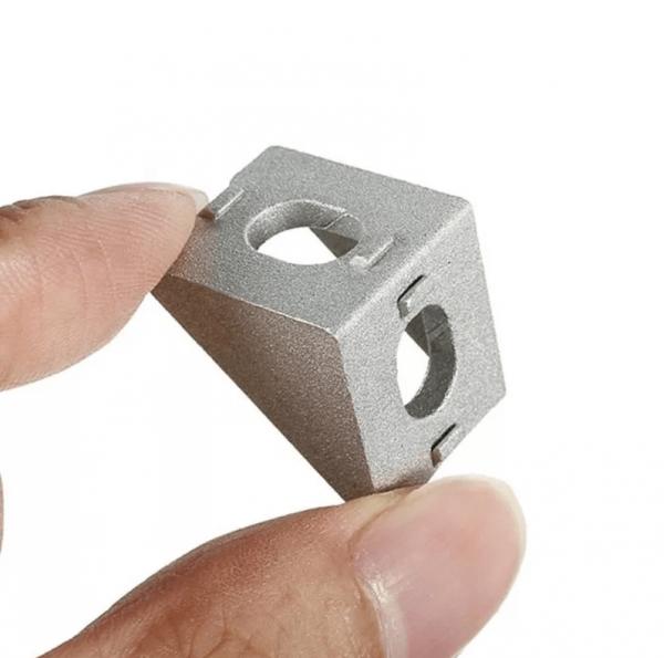 Esquina Perfil Estructural De Aluminio 2020, 20x20