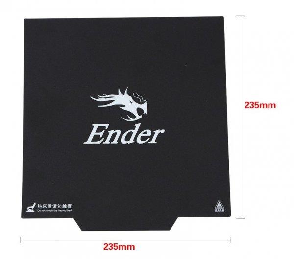 cama flexible magnetica para ender 3 pro base 3d sticker