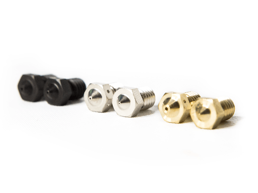 Materiales de boquillas para impresora 3D